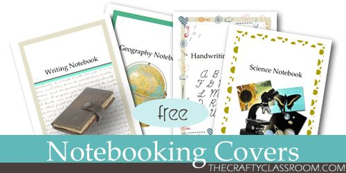 FREE Notebooking Covers & Binder Labels! For David's other subjects this year ie grammar , writing, science, ...