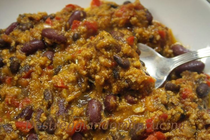 Destreggiandomi in cucina: Chili Beans con carne