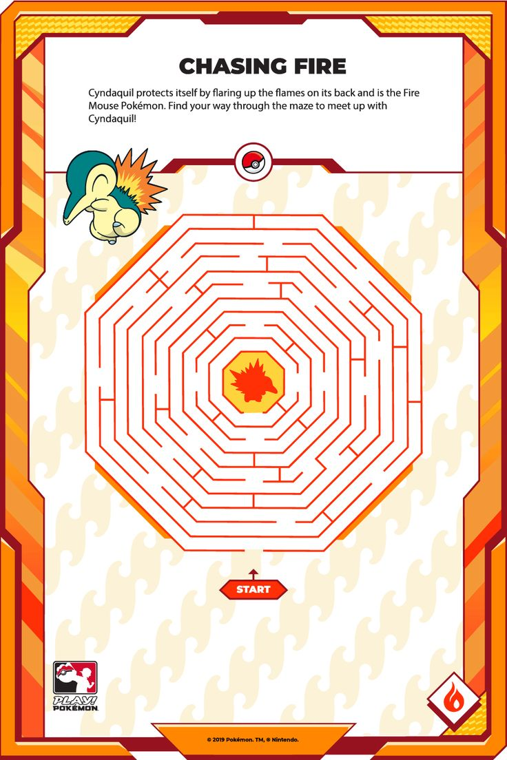 Find your way through the maze to meet up with Cyndaquil! Maze, Finding Yourself, Nintendo, Playing Cards, Cards, Game Cards, Playing Card