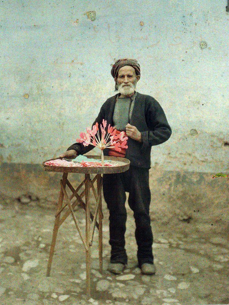 A Muslim selling barley sugar, Prizren