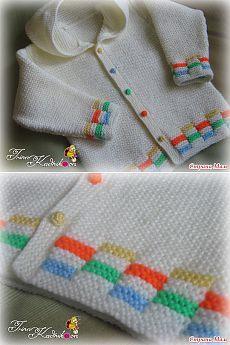Детский жакет с капюшоном - Вязание - Страна Мам