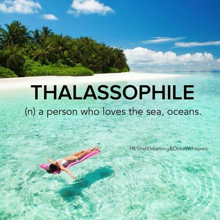 Thalassophile, or in other words a mermaid ;) With your Fin Fun mermaid tail you can feel exactly like a real mermaid!