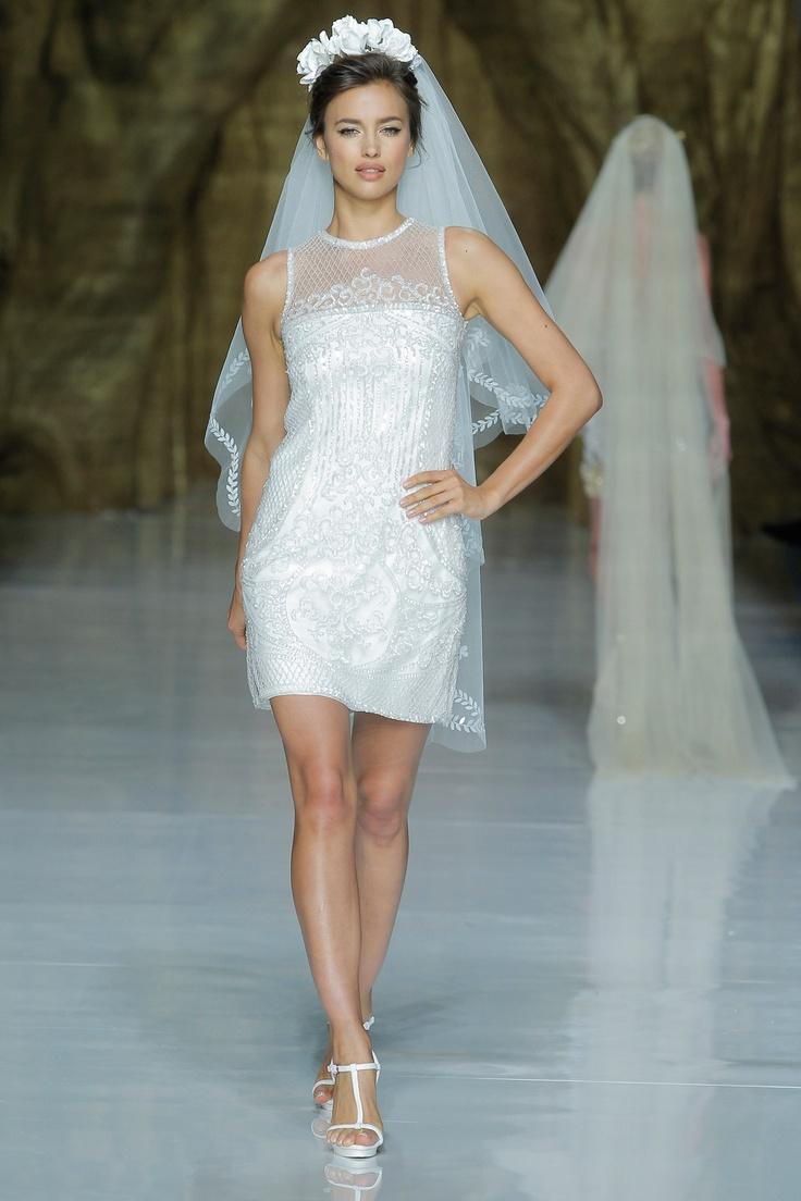 Wedding dress trends for 2014 – Spring Catwalks | PaperGrace