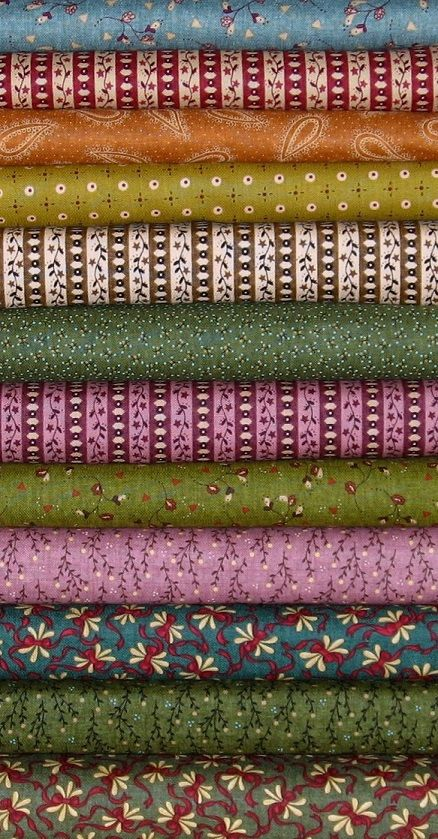 285 best Fabrics images on Pinterest | Bedspreads, Calico fabric ... : fabric for quilting online - Adamdwight.com
