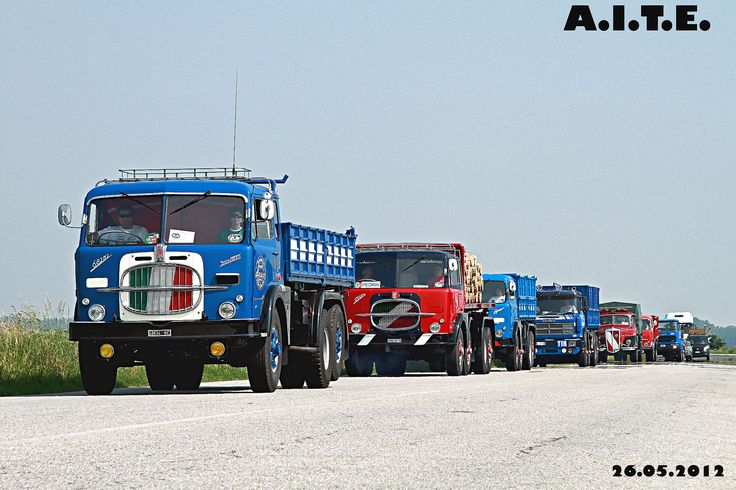 "https://flic.kr/p/c9vsMq | TRUCKS  Parade - A.I.T.E. | TRUCKS  Parade - A.I.T.E.  I Camion ed i Bus d'epoca sono impegnati nella sfilata tra le risaie da VERCELLI a Casale Monferrato Al , andata e ritormo !  Dato che foto singole di questi camion non mi mancano ho cercato la foto diversa dal solito !  Vintage vehicles are involved in the parade, along the road where there are fields of rice , from VERCELLI in Casale Monferrato Al , roundtrip   60 Anniversary Company MARAZZATO  "" www.mar..."