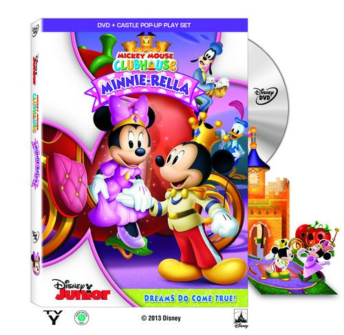 Minnie-Rella DVD - Mickey Mouse Clubhouse Photo (36500729) - Fanpop