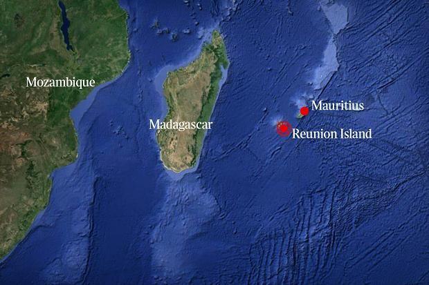 Afbeeldingsresultaat voor map reunion mauritius