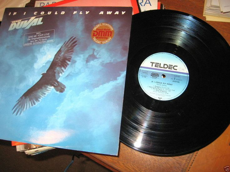 Frank Duval ‎- If I Could Fly Away GER 1983 Lp near mint