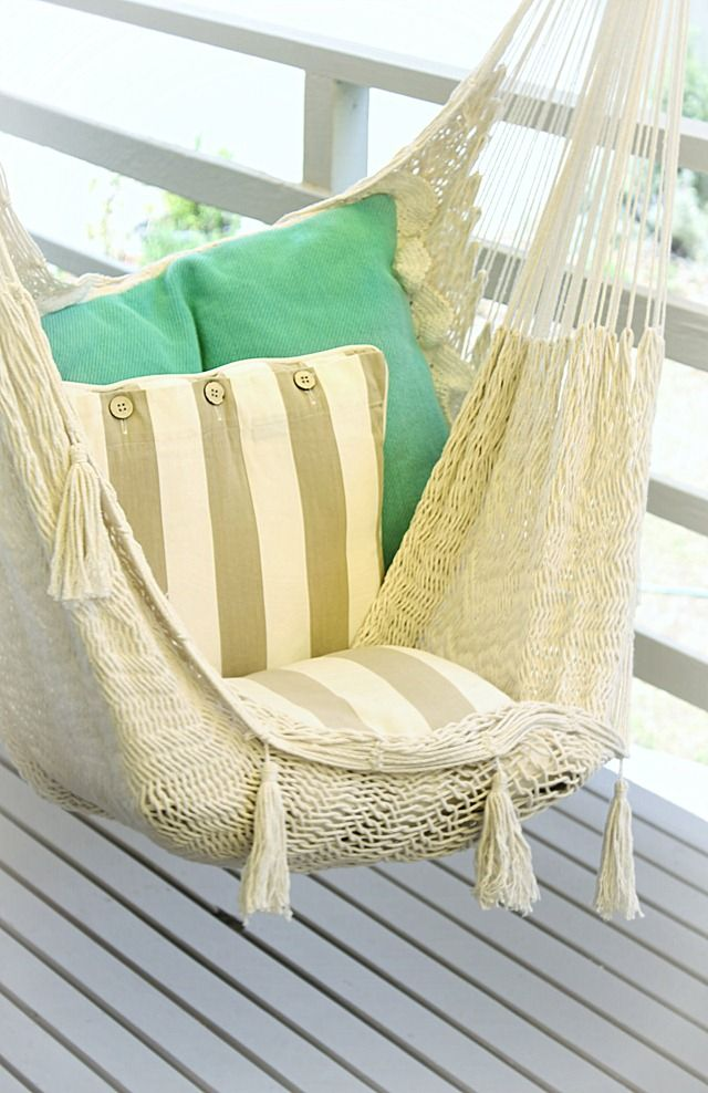 Indoor hammock chair nerd haven pinterest beach for Diy bedroom hammock