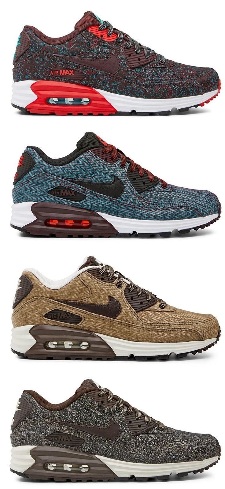 Nike Air Max 90 Lunar - Suit & Tie Edition. My kind of athletic shoe! http://www.gumtree.com/p/womens-trainers/airmax-nike-90-brand-new-original-ltd-s-%C2%A350-/1100557116