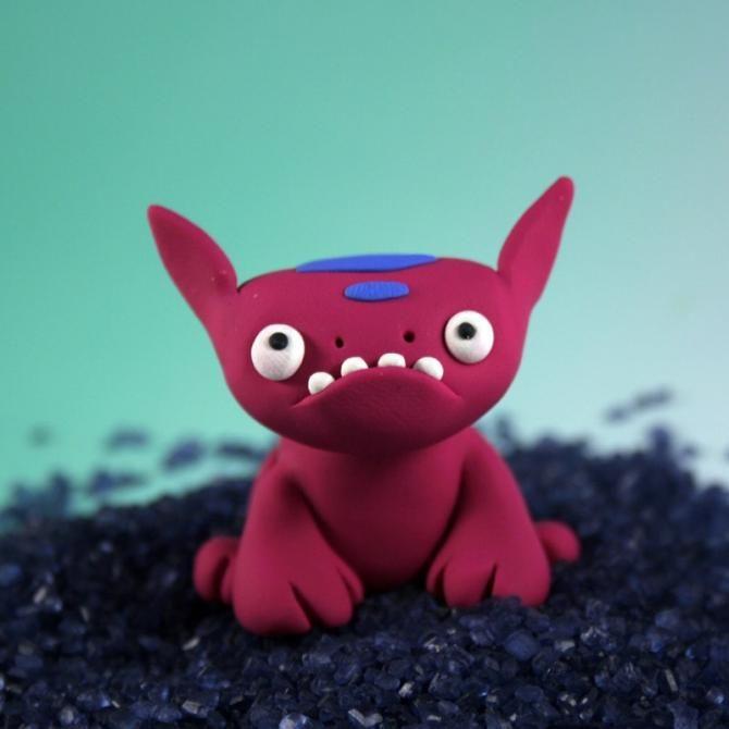 Monstruos de Plastilina   animales  talento arte