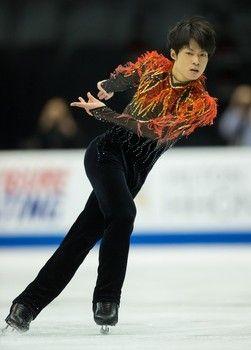 Tatsuki Machida, Skate America 2013, Men's costume inspiration for Sk8 Gr8 Designs