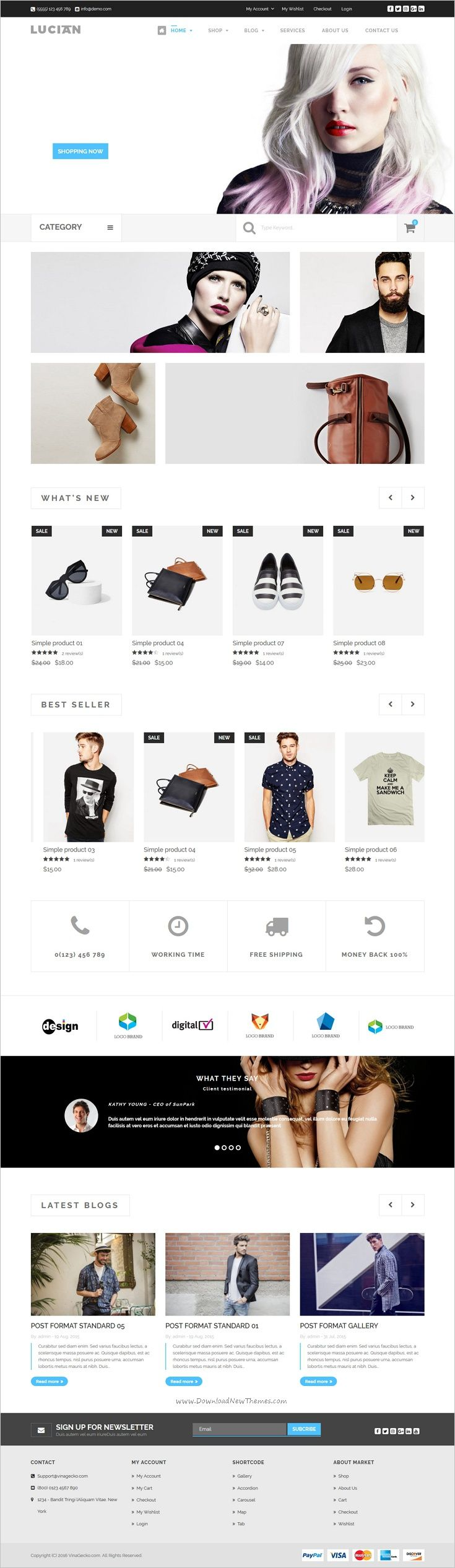 VG Lucian is a well-designed responsive #WooCommerce #WordPress theme for stunning #eCommerce website with 8 unique homepage layouts download now➩ https://themeforest.net/item/vg-lucian-responsive-ecommerce-wordpress-theme/17042399?ref=Datasata