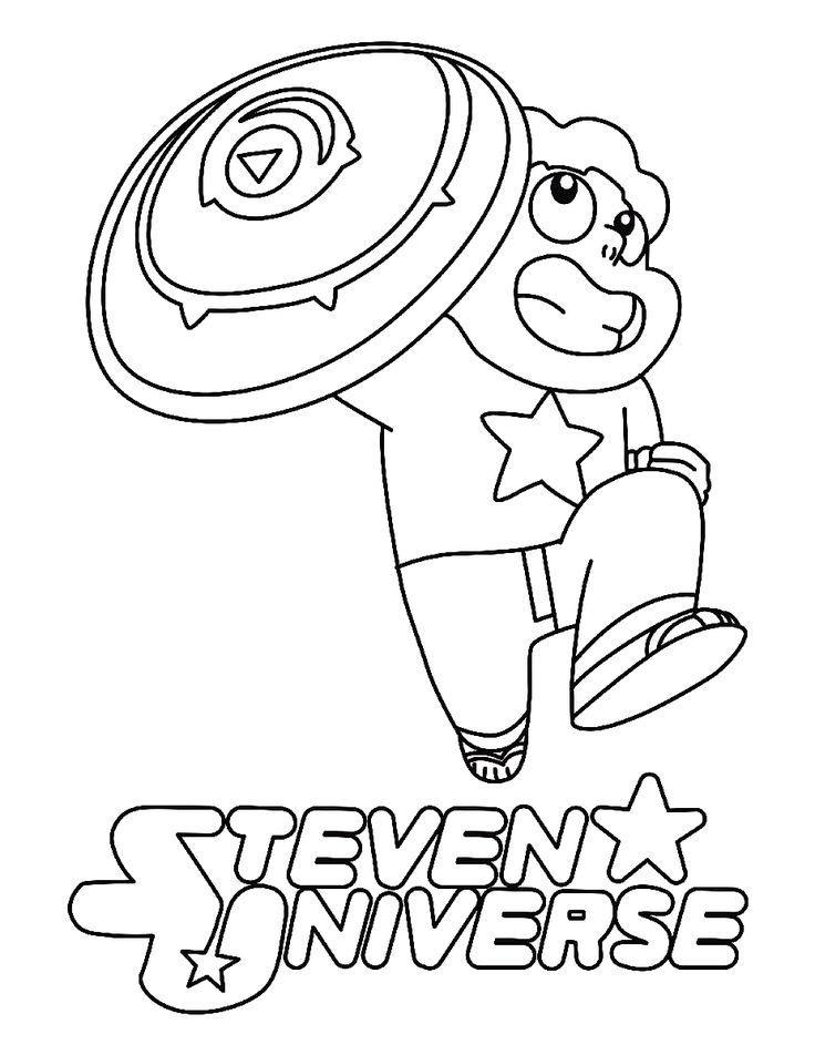 Steven Universe Coloring Sheet Printable Coloring sheets