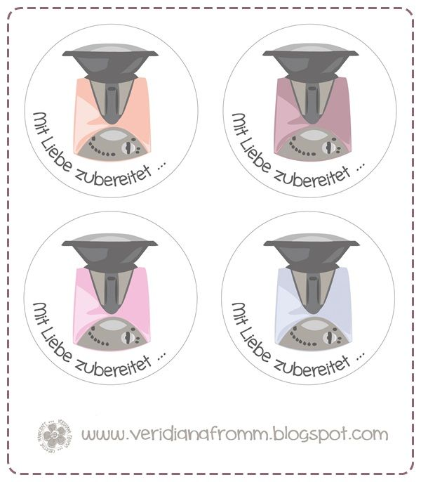 Veridiana Fromm: freebie friday - THERMOMIX Etiketten