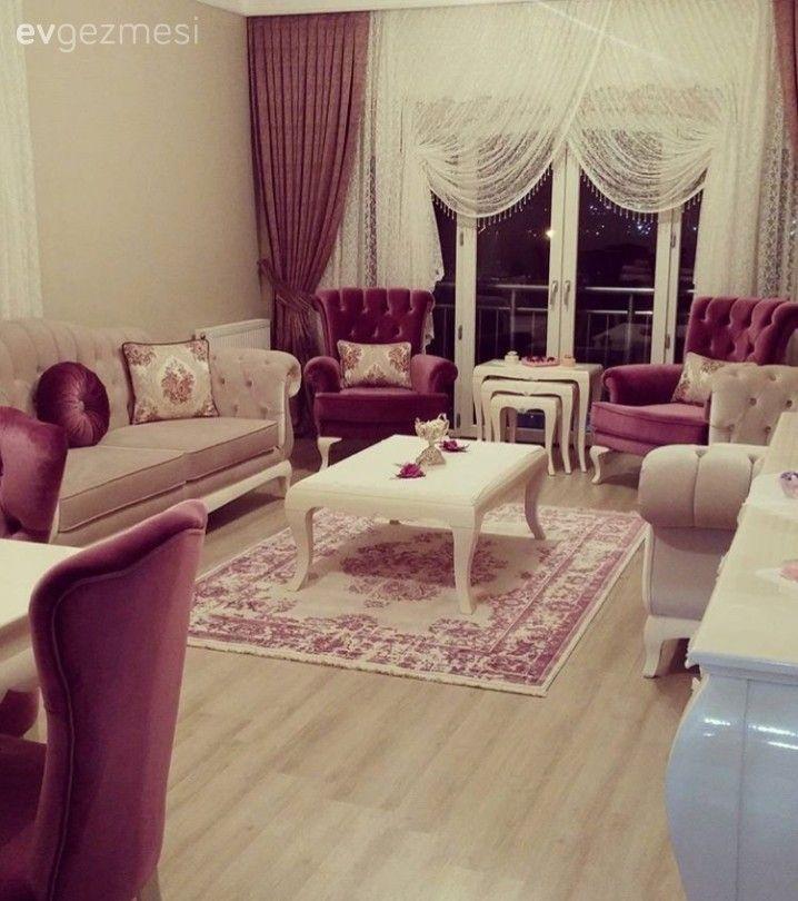 Salon Dekorasyonu için İlham Verecek Evler, Öneriler – Candeğer Tetik Dokumacı