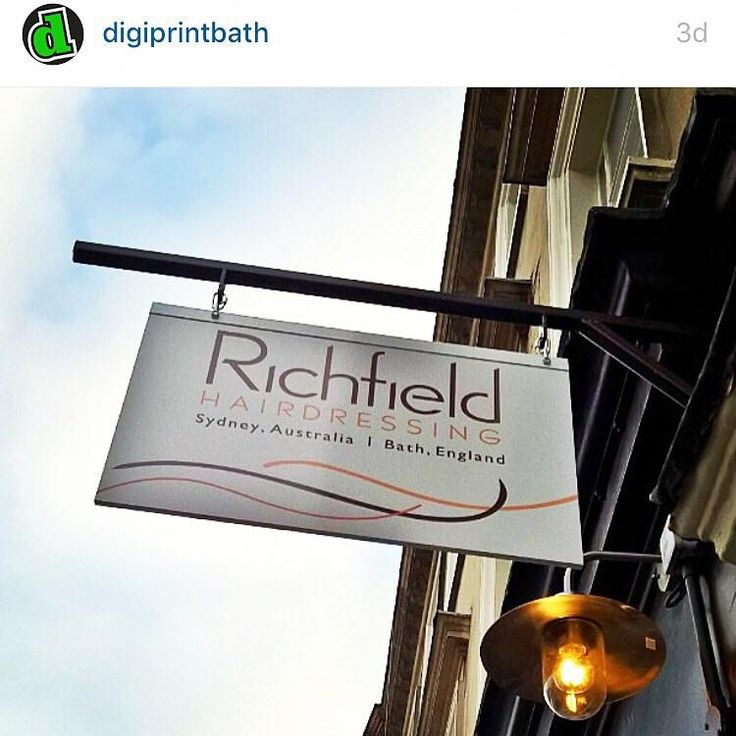 #richfieldhairdressinguk #bath #uk #sign