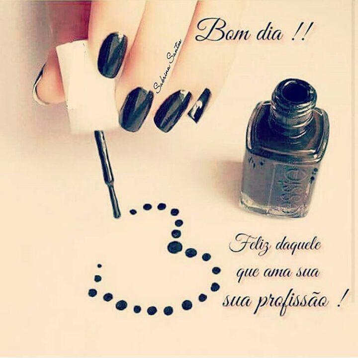 ❤ #amorpelaprofissao #amooquefaço #manicure #pedicure #bomdia