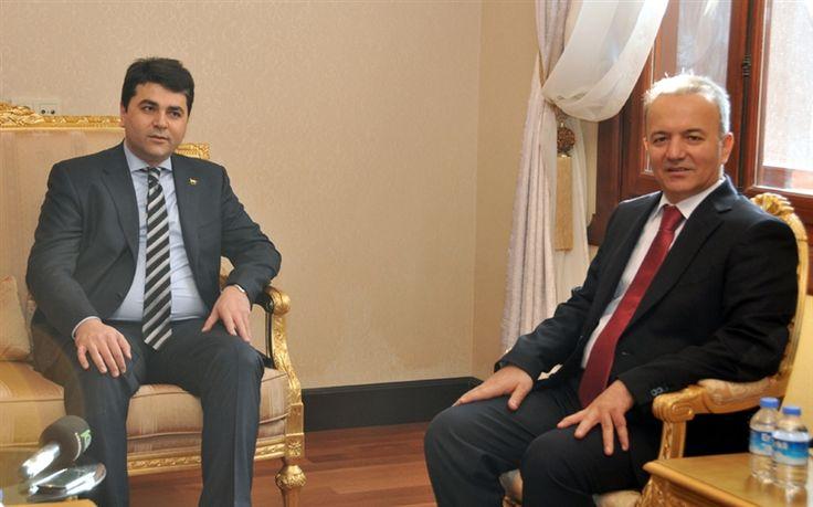 DP Lideri Uysal, Güner'i ziyaret etti