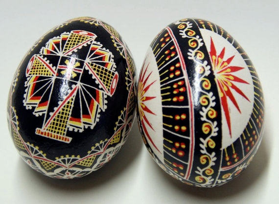 Hand Painted Romanian Eggs