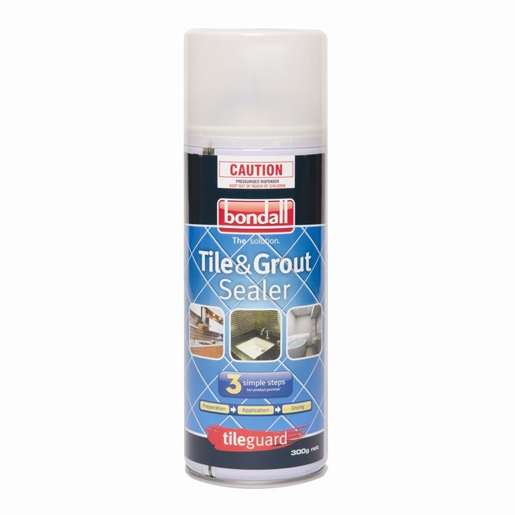 Find Bondall Tileguard 300g Aerosol Tile And Grout Sealer at Bunnings Warehouse…