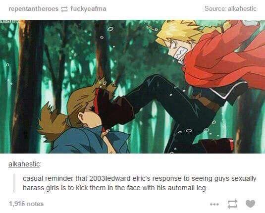 Fullmetal Alchemist: Brotherhood | FMA | Edward Elric | Anime | Fanart | Meme | Tumblr | Meme | SailorMeowMeow