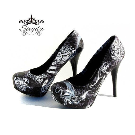 Harry Potter In bianco e nero scarpe  Scegli il tuo di Siegda