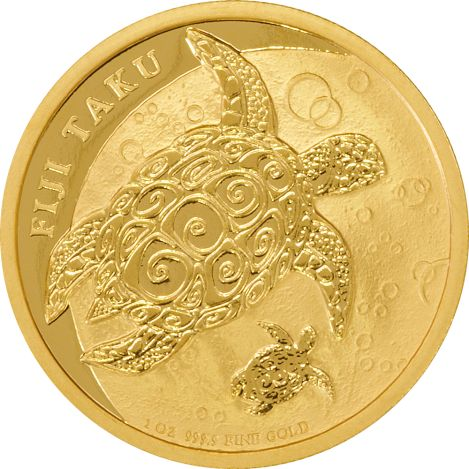 New Zealand Mint 1oz Gold Fiji Taku Coin