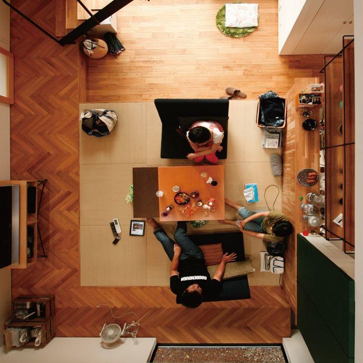 図書館や美術館も参考に。枠にとらわれず、居心地のよさを追求する家〜fukarockさん〜[連載:RoomClip_新人ユーザー紹介] | RoomClip mag | 暮らしとインテリアのwebマガジン