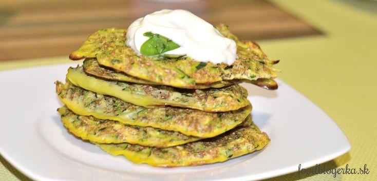 light zucchini pancakes