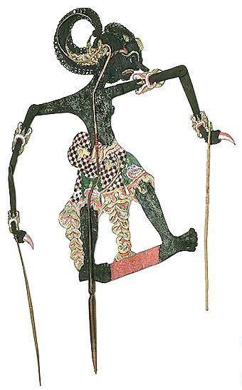Javanese Shadow Puppet