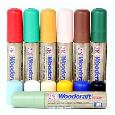 15mm Woodcraft Liquid Chalk Pen, Pick n Mix. Just £2.75 per pen! Waterproof ink.  www.chalkpensuk.com 01353 665141