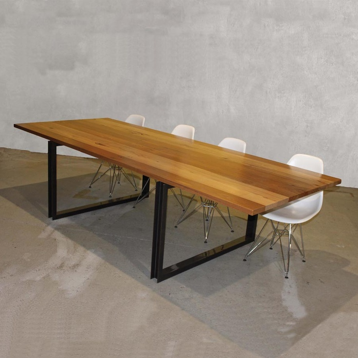 reclaimed timber dining tables | The Natural Room