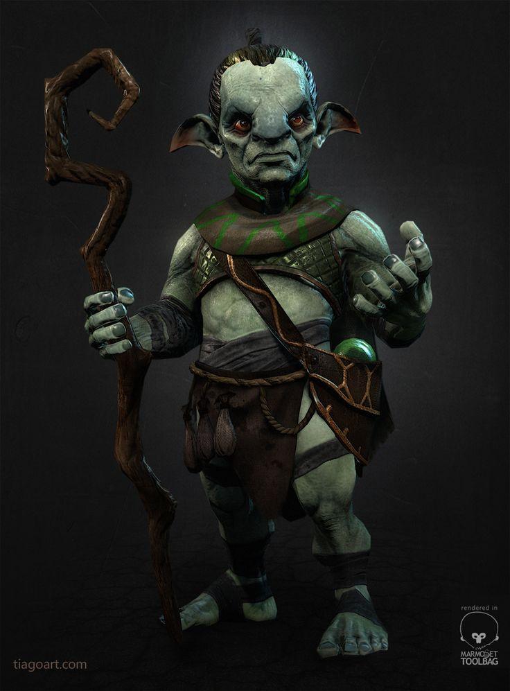 Gnome Picture  (3d, fantasy, gnome, shaman)