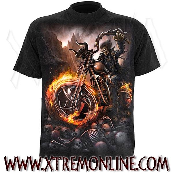 Camiseta de manga corta Wheels of Fire.