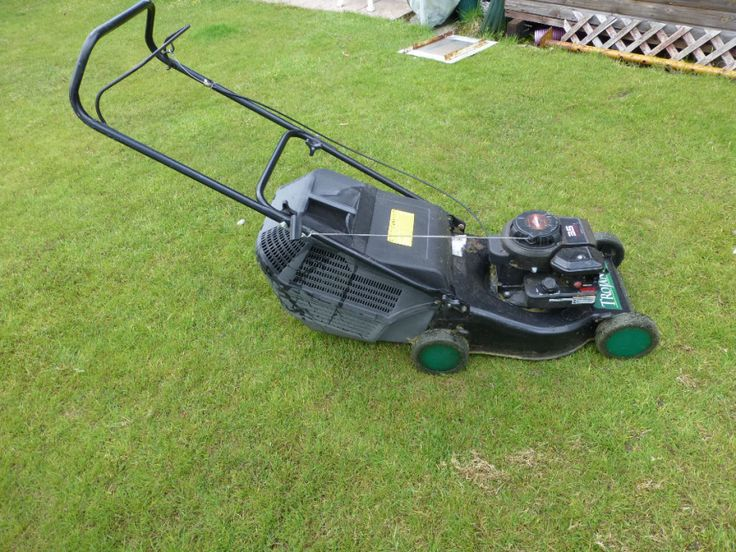 Lawn Mower, petrol rotary. Qualcast This rotary lawn mower has always ...
