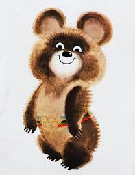 Misha, The Bear   1980 Moscow Olympics