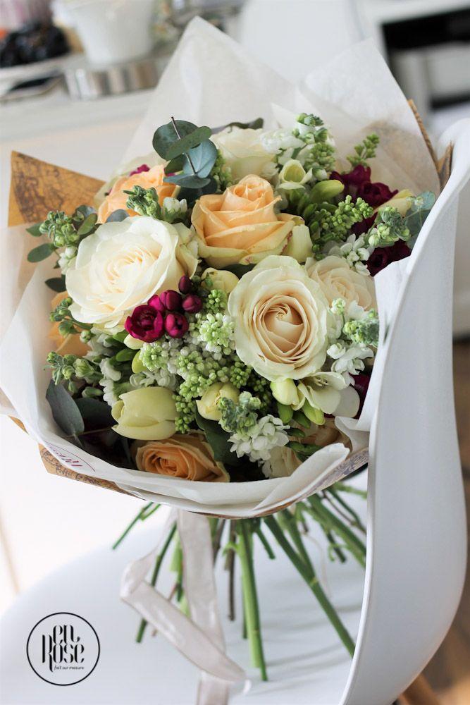 Buchet de flori cu liliac Mireasma de primavara ne va umple simturile cu arome dulci si delicate. Un buchet deosebit pentru persoane deosebite!
