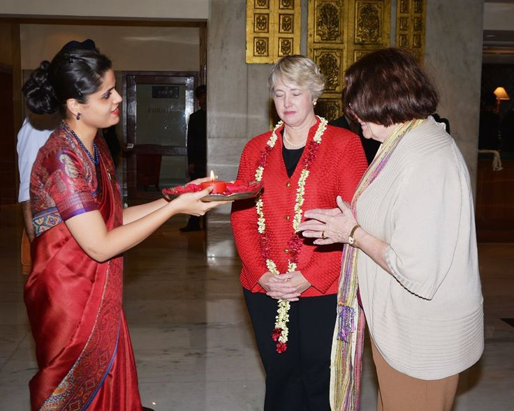 It was a pleasure to have the Mayor of Houston, Ms. Annise Parker, at the Taj Mahal Hotel, New Delhi.