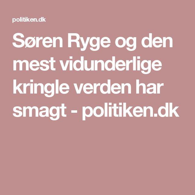 Søren Ryge og den mest vidunderlige kringle verden har smagt - politiken.dk