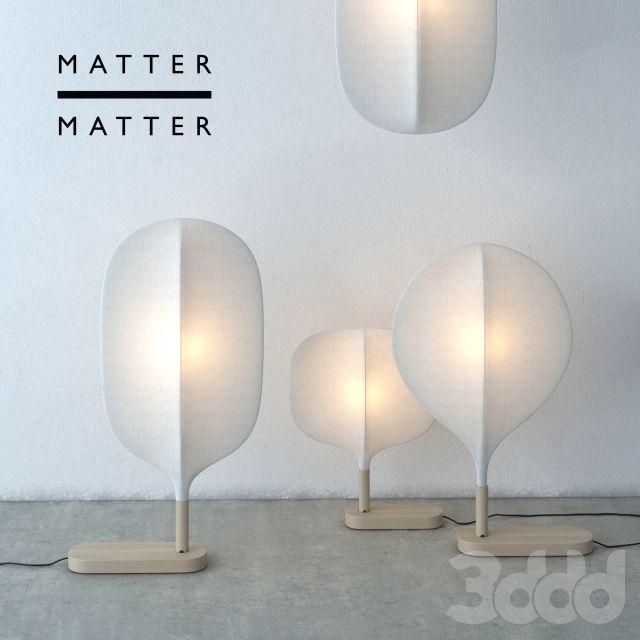 Подвесные и напольные светильники Chimney Matter&Matter
