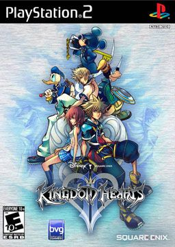 Kingdom Hearts II    A cover that can be used in a feature to show how video game covers are designed. This cover looks to be more hand-drawn, rather than a computerized photo.