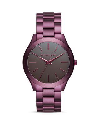 Michael Kors Slim Runway Bracelet Watch, 42mm | Bloomingdale's