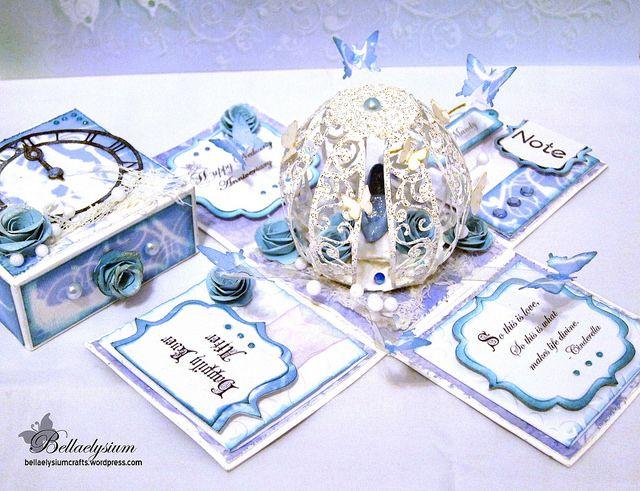 Cinderella Explosion Box   Bellaelysium Crafts