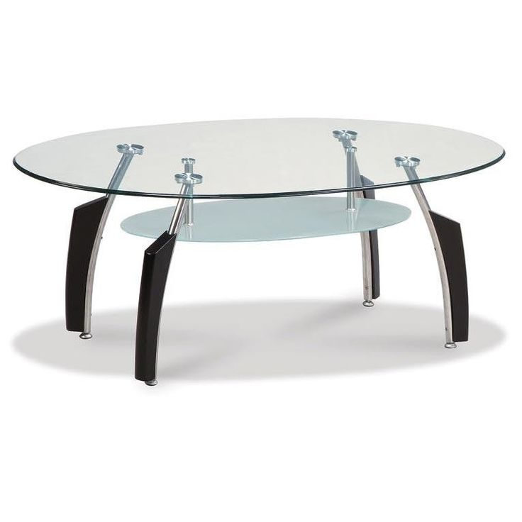 Black Contemporary Coffee Table