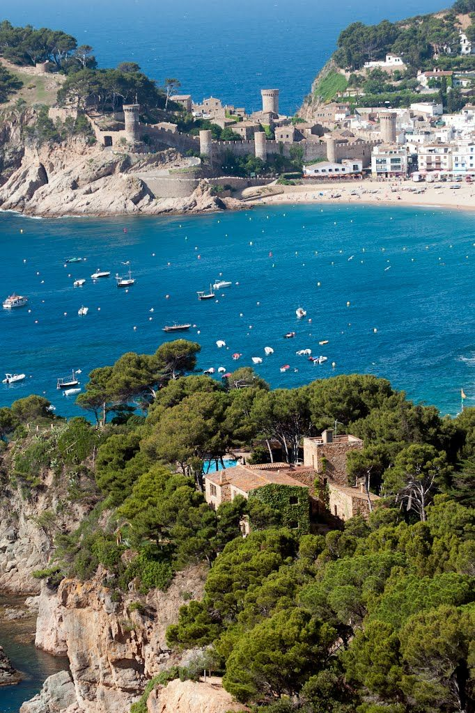 Tossa de Mar, Girona, Spain. Go to www.YourTravelVideos.com or just click on photo for home videos and much more on sites like this.