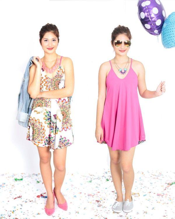 Kayla Reversible Cami Dress