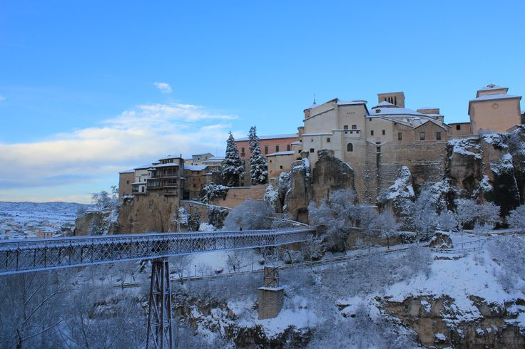 Casas Colgadas en Cuenca, Castilla-La Mancha