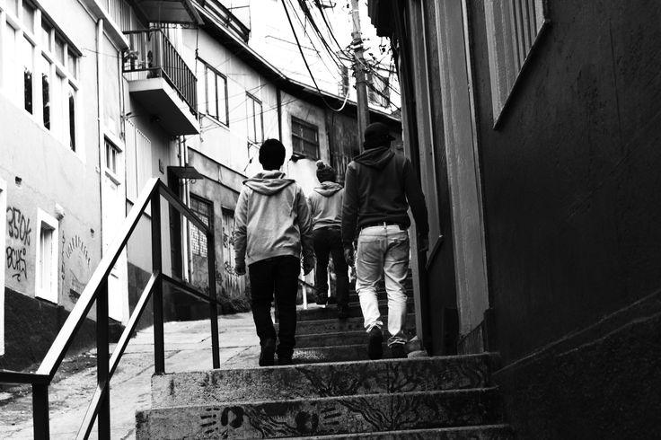 Calles de Valparaiso