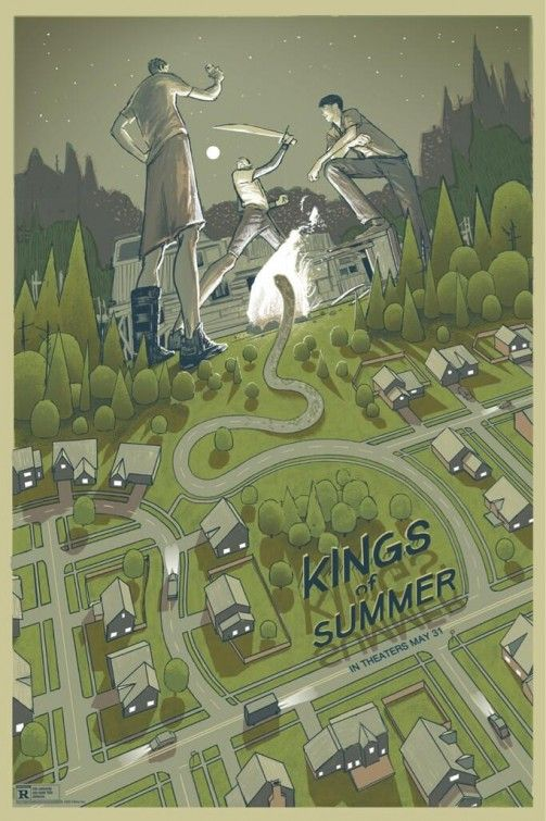 The Kings of Summer (2013) - poster by Rich Kelly